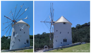 小豆島 ギリシャ風車