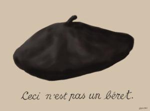 これはベレー帽ではない イラスト:田村元 Illustration by Gen Tamura