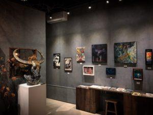 gallery hydrangea 『あの日見た幻獣』 会場の写真