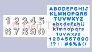 ストックイラスト 数字 アルファベット 英語 素材 PIXTA Adobe Stock stock illustration numbers alphabets