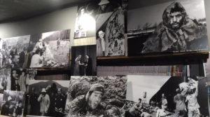「小林正樹 映画祭」を開催中のシネ・ヌーヴォ館内