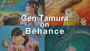 Gen Tamura on Behance イラストレーター タムラゲン
